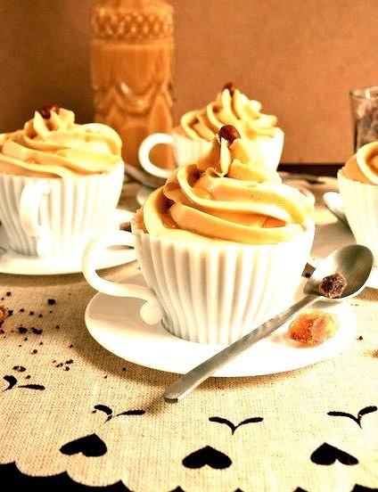 Caramel Latte Macchiato Cupcakes.