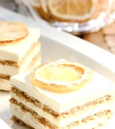 Layered Jell-O Mousse Cake