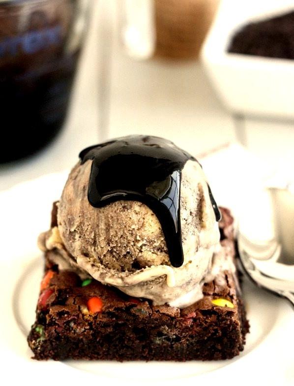 Recipe: Peanut Butter Fudge Swirl Ice Cream