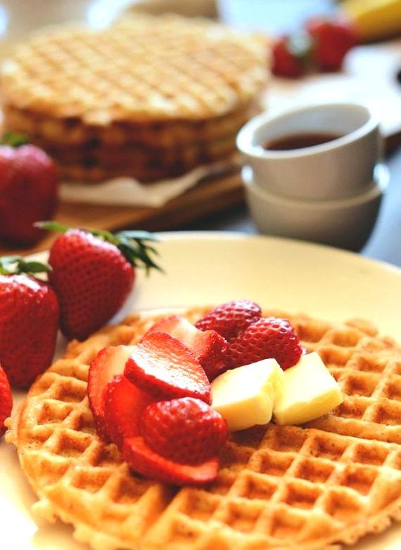 Recipe: Gluten Free Oatmeal Waffles