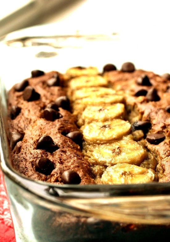 Avocado Banana Bread