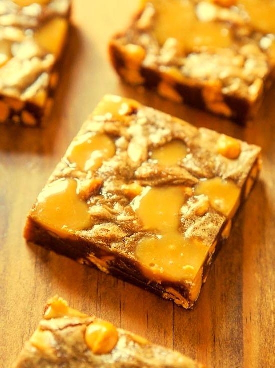 Recipe: Browned Butter Caramel & Butterscotch Bars