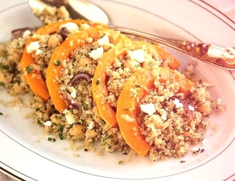 Butternut & Quinoa Salad With Lemon & Honey