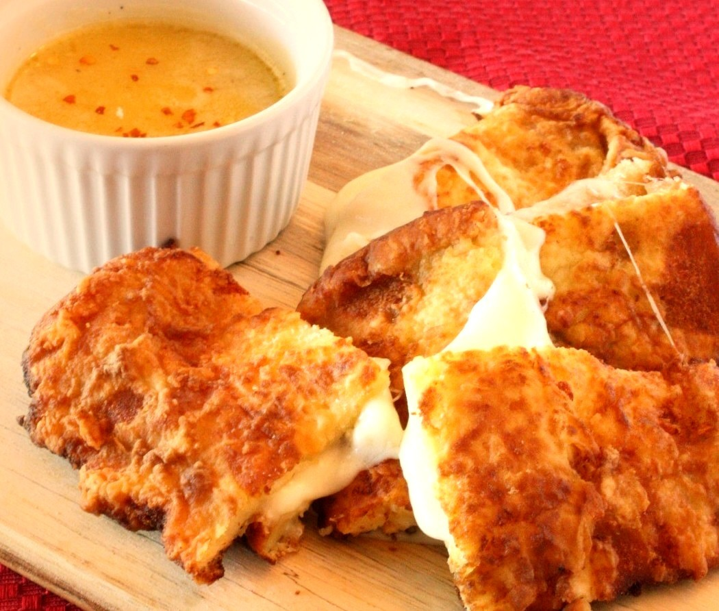 Fried Grilled Cheese
