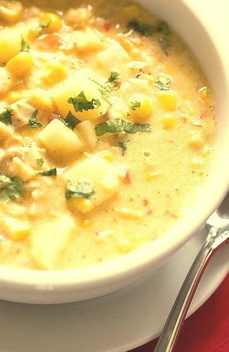 Homemade version of a favorite canned soup! by Brown Eyed Baker on Flickr.