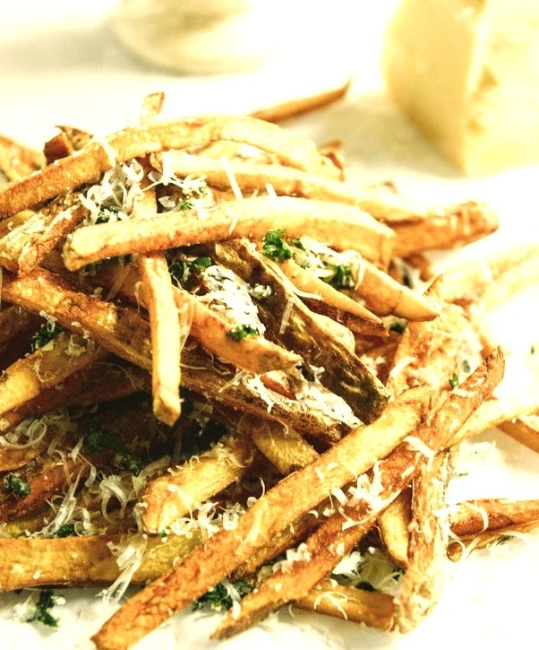 Herb Garlic Parmesan French Fries