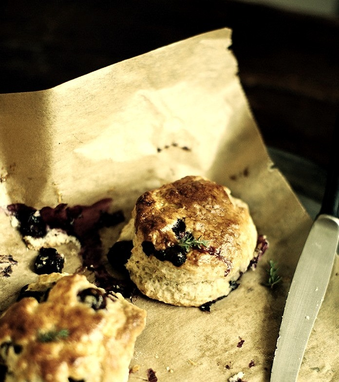 Blueberry Thyme Scones