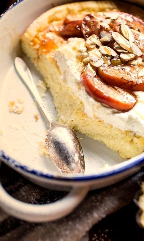 Easy Warm Swedish Caramel Apple Cheesecake Half Baked Harvest